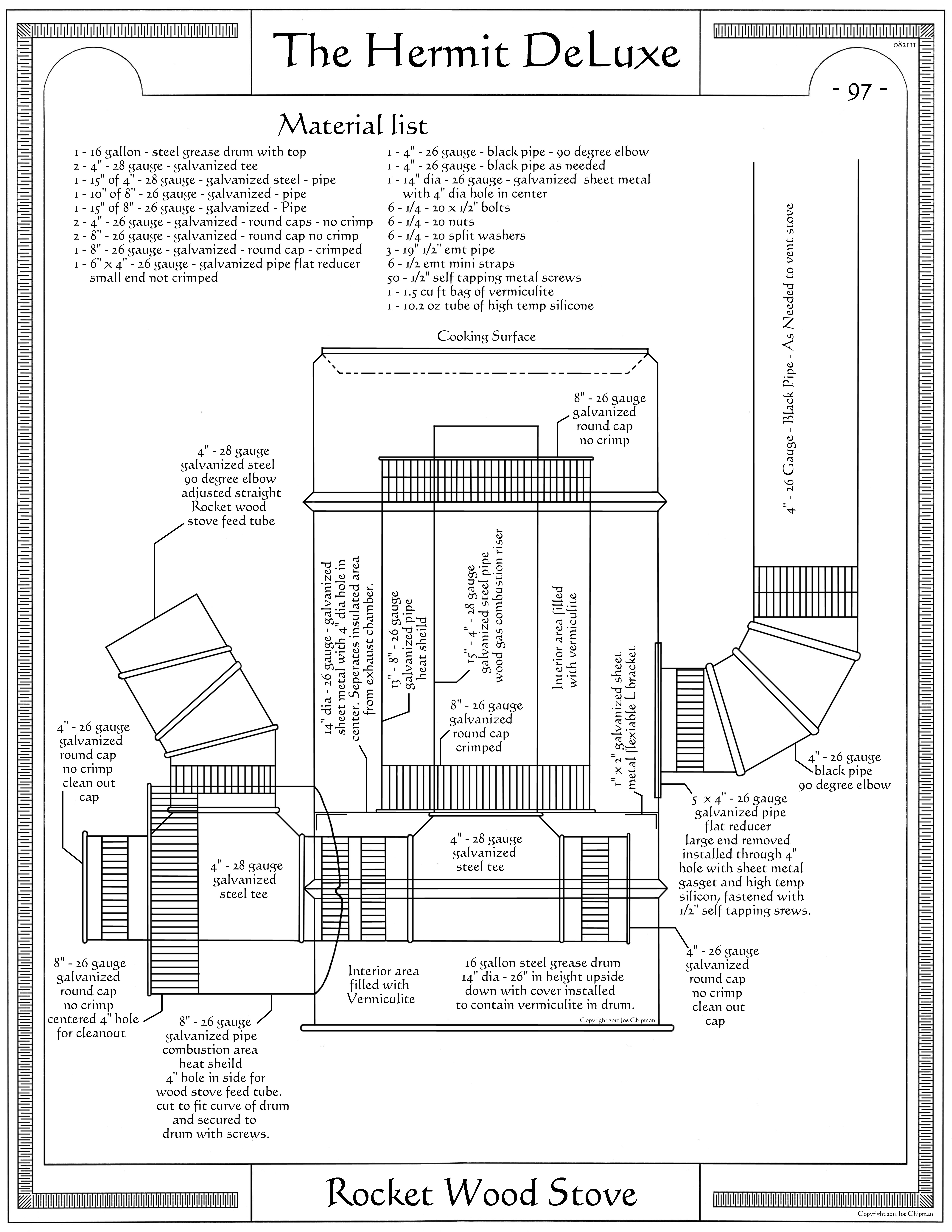 Rocket wood stove wood burning stoves forum at permies for Rocket stove design plans