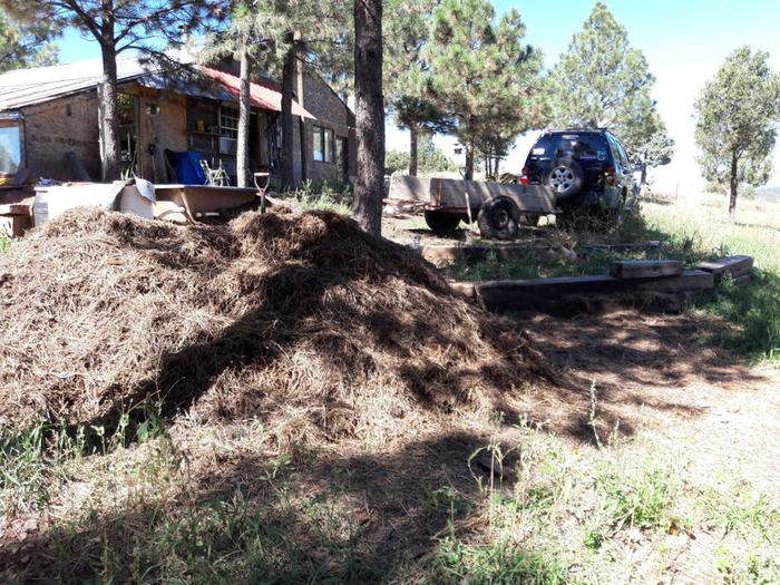 [Thumbnail for Hugle-progress-soil-collected-getting-ready-to-turn-compost-pile-9-27-18.jpg]