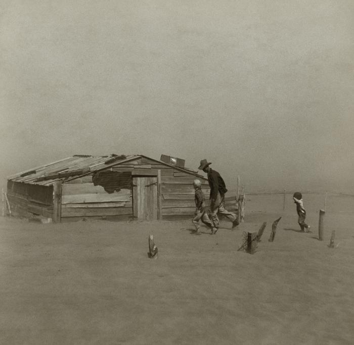 [Thumbnail for Dust_bowl_-_Farmer_walking_in_dust_storm_Cimarron_County_Oklahoma_April_1936_by_Arthur_Rothstein-_Farm_Security_Administration_WikiMedia.org.jpg]