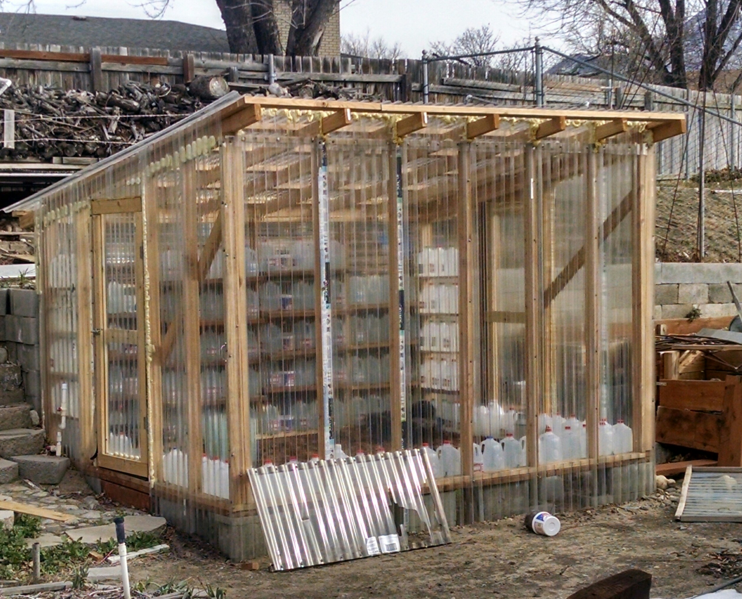 Unusual Greenhouse Greenhouses Forum At Permies