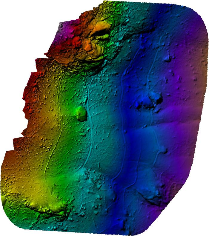 2D Digital Elevation Model