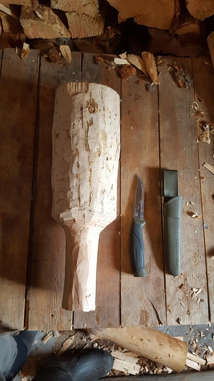hand made mallet