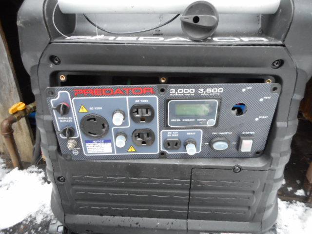 Wiring a remote start on H F  Predator 3500 (gear forum at