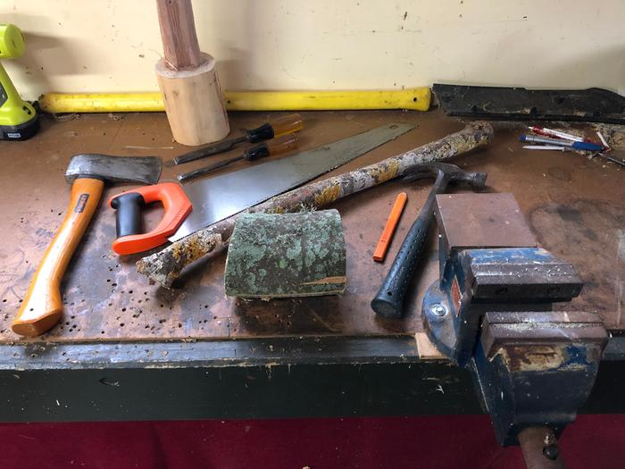 everything to make a compound mallet